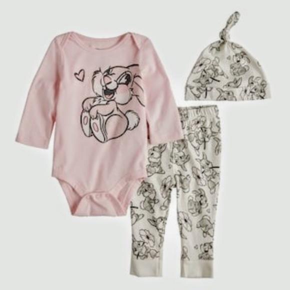 650f87465 Jumping Beans Matching Sets | Disneys Bambi Baby Girl Thumper ...